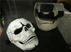 New 007 Spectre Mask James Bond Cosplay Props Skull Skeleton Glass Steel #Unbranded #Mask #Cosplay