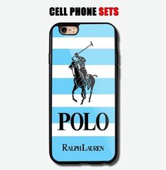 Polo Ralph Lauren Blue Mean Striped Logo Custom Design For iPhone Case Cover Iphone Wallet Case, Iphone Case Covers, Iphone 6 S Plus, Best Iphone, Plastic Case, Cool Things To Buy, Custom Design, Polo Ralph Lauren, Ebay