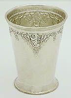 Grand Baroque Mint Julep Cup - scream!  #grandbaroque #mintjulep #julepcup #derby #sterlingsilver