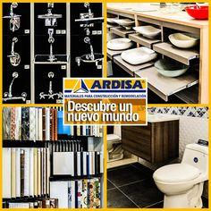En #ARDISA tenemos un mundo de variedad en productos para la #Remodelación y #Construcción de tus espacios. Visítanos en nuestro punto de venta. ARDISA CENTRO DE LA CONSTRUCCIÓN Cra 17C No 60-30 #Bucaramanga