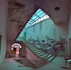 Graffiti wall: Venice (IT), 2012