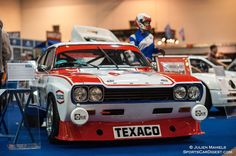 Photo gallery and event report from Techno Classica Essen held April at the Messe Essen exhibition centre in Essen, Germany. Car Ford, Ford Gt, Benz E, Mercedes Benz, Sports Car Racing, Race Cars, Old Hot Rods, Ford Capri, Race Engines