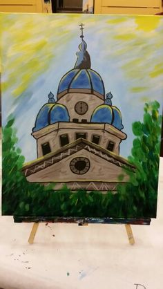 Denton Courthouse / Painting With a Twist