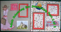 Travel Journaling: Using Your Adult Colouring Pictures Part 2 Scrapbook Blog, Scrapbooking, Colouring, Adult Coloring, Journaling, Arts And Crafts, Frame, Pretty, Artist