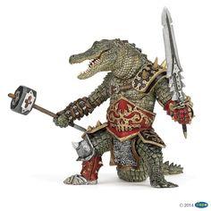 Figurine Crocodile mutant - Figurines FANTASY WORLD