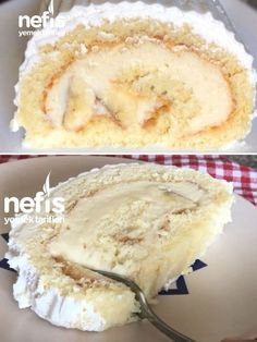 Cotton Roll Cake Making - Yummy Recipes-Pamuk Rulo Pasta Yapımı – Nefis Yemek Tarifleri How to make a Cotton Roll Cake Making Recipe? illustrated explanation of this recipe and photos of those who try it here. Author: Tuğçe's Colorful Cuisine⭐️ - Dessert Simple, Light Snacks, Wie Macht Man, Turkish Recipes, Köstliche Desserts, Popular Recipes, How To Cook Pasta, How To Make Cake, Cake Recipes
