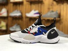 87e7e5498bd8 Nike Air Huarache E. D. G. E TXT QS Elastic White Black AO1697 001 Mens  Womens Winter Running