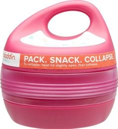 Expandable Snack Container Snack Containers, Spy Gadgets, Kitchen Things, Cool Tech, Camping Gear, Storage Ideas, Prepping, Wanderlust, Lunch