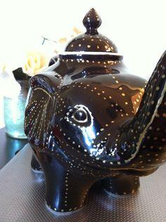 elephant teapot.