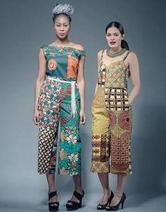 Elisa African print  jumpsuit formal bridal jumpsuit ankara romper - Brought to you by Avarsha.com