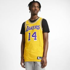ee7282f81340b Brandon Ingram Icon Edition Authentic (Los Angeles Lakers) Mens Nike NBA  Connected Jersey Size