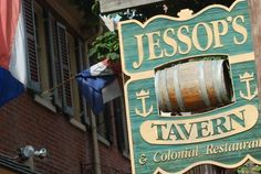 Jessop's Tavern & Colonial Restaurant in Old New Castle.  Made the biggest and best Shepherds Pie and Sweet Potato fries!!!