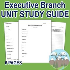 36 Best Executive Branch Images Government Lessons