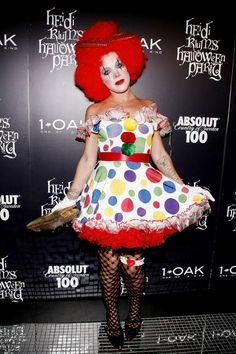 Sexy clown halloween costume idea