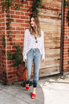 Spring Mules Outfit