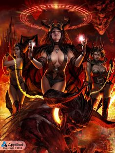 ThreeEvilSisters Adv by ChrisRa.deviantart.com on @deviantART