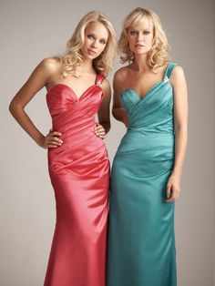 Allure 1232 bridesmaid dress, from the Allure Bridesmaids collection of wedding gowns.  #timelesstreasure
