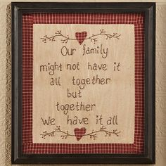 Cornwall County Stitchery, Together We Have It All $7.99 thru Sunday, 4/21 http://mrsv.athome.com/38111221-cornwall-county-stitchery-together-we-have-it-all.html