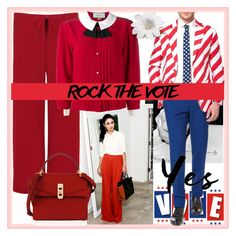 """""""selly"""" by selly111528 ❤ liked on Polyvore featuring WearAll, Gucci, OppoSuits, Henri Bendel and rockthevote"""