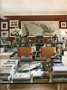 Ralph Lauren's Manhattan office