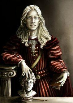 Marius de Romanus - portrait by sheepSkeleton