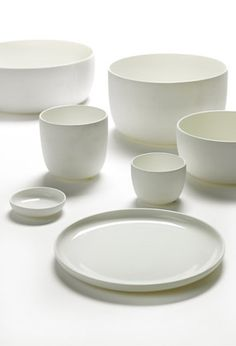 Piet Boon Styling by Karin Meyn. White tableware from Piet Boon for Serax.