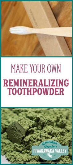 Are you sick of all the plastic in your bathroom? Or all the chemical in your toothpaste? This remineralizing tooth powder is kid friendly and easy to make.  waste free, eco living, environment, recycle, plastic free alternatives, save the earth, keep it green, plastic free living, plastic free kitchen, plastic free bathroom, zero waste, tips, tricks, zero waste hacks, challenge, products,  #plasticfreejuly #plasticfree #nomoreplastic #zerowaste