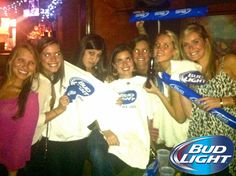Such a great night at Moonshine for #BudLight Night!! #Beer #AthensGA #Georgia #BeerLovesYou