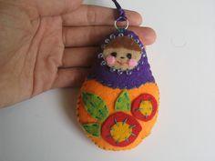 Felt Matryoshka Nesting Doll