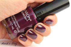 13.Revlon Colorstay Nail Polish in Bold Sangria