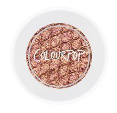 Colourpop - Nillionaire - metallic bronze with pink and gold glitter supershock shadow