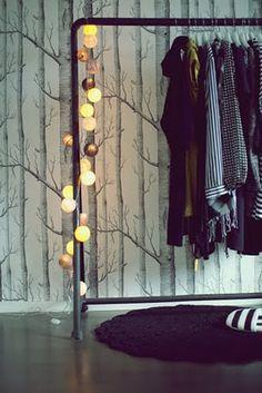 Via Aniliini   Happy Lights   Cole and Son Birch Wallpaper