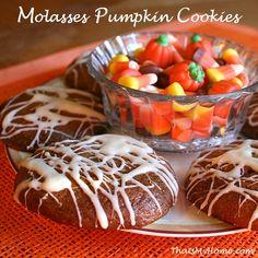 molasses pumpkin cookies recipe