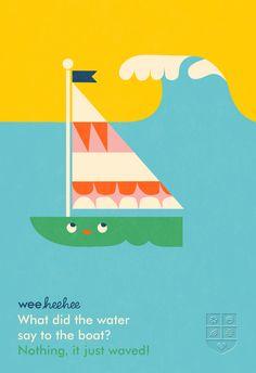 What did the water say to the boat?  #WeeHeeHee #KidJokes