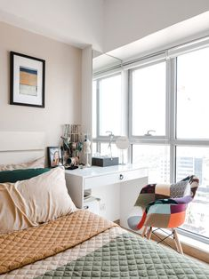 A Look Inside the Charming Home of a Real Living Reader Condo Interior Design, Condo Design, House Design, Small Closet Space, Small Spaces, House Tours, Storage, Home, Purse Storage