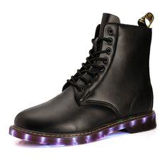 Leuchtende Schuhe Stil Britische Für Erwachsene