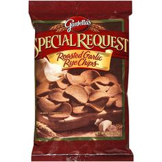 Gardetto's Special Request Roasted Garlic Rye Chips: 3 grams/serving