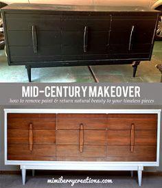 mimiberry creations: Mid Century Modern Dresser Makeover