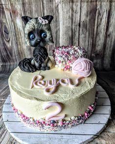 Birthday Cake, Kitty, Cakes, Desserts, Food, Little Kitty, Birthday Cakes, Kitten, Deserts