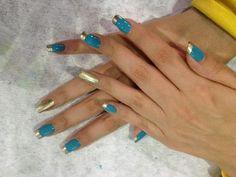 azul dorado