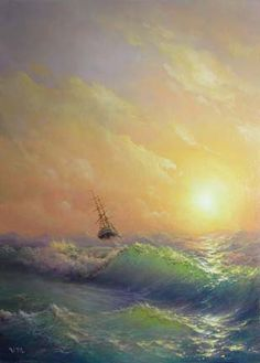 storm, ship