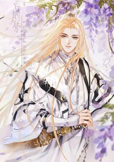 Fantasy Art Men, Fantasy Girl, Boy Art, Art Girl, Manga Anime, Anime Art, Handsome Anime Guys, Fantasy Paintings, China Art