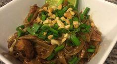 Clean eating Chicken Pad Thai