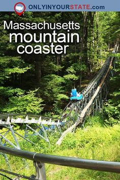 Travel | Massachusetts | Mountain Coaster | Mountains | Outdoors | Adventures | Things To Do | Places To Visit | USA | Road Trips | Day Trips | Attractions | Trails | Scenic | Destinations | Woods | Rides | Thunderbolt Mountain Coaster | Berkshire East Mountain Resort | Resorts | Places To Stay
