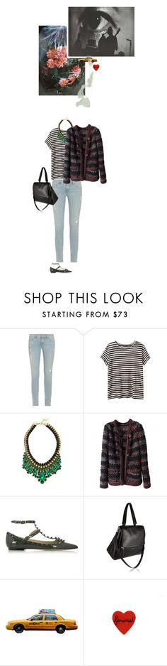 """""""they're just hopelessly gazing.\"""" by chicagokisses ❤ liked on Polyvore featuring Frame Denim, Adia Kibur, Chanel, Valentino, Givenchy and 1Wall"""