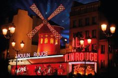 Moulin Rouge tickets, dinner, and half bottle of champagne deal