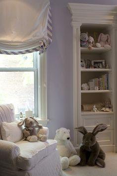 Plum-furniture-interiors ~ precious little corner of a sweet nursery~❥