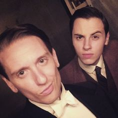 charliewatson on instagram | A quick snap as we film our final few scenes for Downton Abbey - it's so very nearly over! @rossbunting  #LastDaysOfDownton #downtonabbey #hallboy #footman