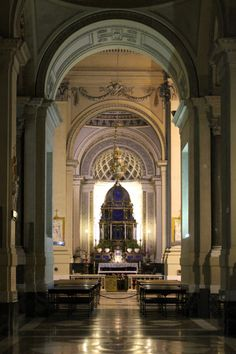 Blessed Sacrament chapel of the Cathedral of Palermo.