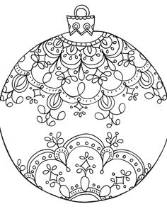 Only Kindergarten Easy Christmas Coloring Pages Sheets Baubles Free From Frees And